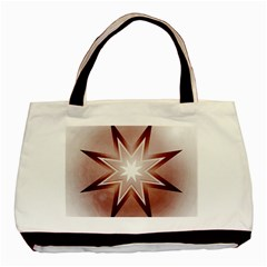 Star Christmas Festival Decoration Basic Tote Bag (two Sides)