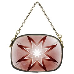 Star Christmas Festival Decoration Chain Purses (two Sides)