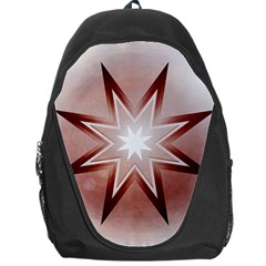 Star Christmas Festival Decoration Backpack Bag