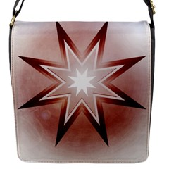 Star Christmas Festival Decoration Flap Messenger Bag (s)