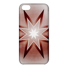 Star Christmas Festival Decoration Apple Iphone 5c Hardshell Case