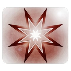 Star Christmas Festival Decoration Double Sided Flano Blanket (small)