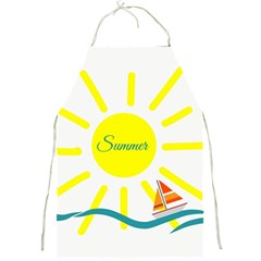 Summer Beach Holiday Holidays Sun Full Print Aprons