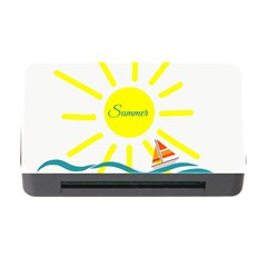 Summer Beach Holiday Holidays Sun Memory Card Reader With Cf