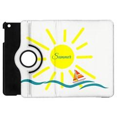 Summer Beach Holiday Holidays Sun Apple Ipad Mini Flip 360 Case