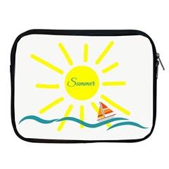 Summer Beach Holiday Holidays Sun Apple Ipad 2/3/4 Zipper Cases