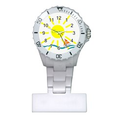 Summer Beach Holiday Holidays Sun Plastic Nurses Watch