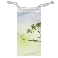 Spring Plant Nature Blue Green Jewelry Bag