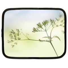 Spring Plant Nature Blue Green Netbook Case (xl)