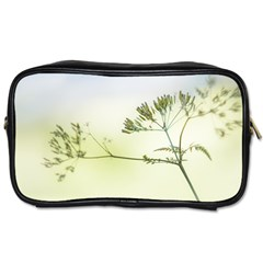Spring Plant Nature Blue Green Toiletries Bags