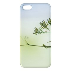 Spring Plant Nature Blue Green Iphone 5s/ Se Premium Hardshell Case
