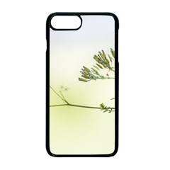Spring Plant Nature Blue Green Apple Iphone 7 Plus Seamless Case (black)