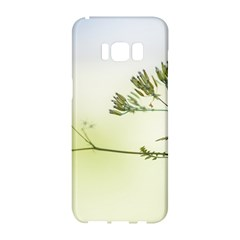 Spring Plant Nature Blue Green Samsung Galaxy S8 Hardshell Case