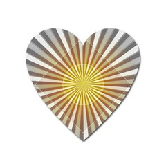 Abstract Art Modern Abstract Heart Magnet