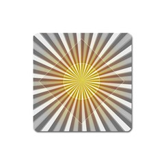 Abstract Art Modern Abstract Square Magnet
