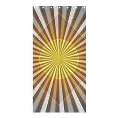 Abstract Art Modern Abstract Shower Curtain 36  X 72  (stall)