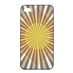 Abstract Art Modern Abstract Apple Iphone 4/4s Seamless Case (black)