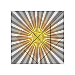 Abstract Art Modern Abstract Acrylic Tangram Puzzle (4  X 4 )