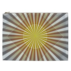 Abstract Art Modern Abstract Cosmetic Bag (xxl)