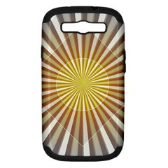 Abstract Art Modern Abstract Samsung Galaxy S Iii Hardshell Case (pc+silicone)