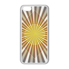 Abstract Art Modern Abstract Apple Iphone 5c Seamless Case (white)