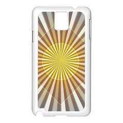 Abstract Art Modern Abstract Samsung Galaxy Note 3 N9005 Case (white)