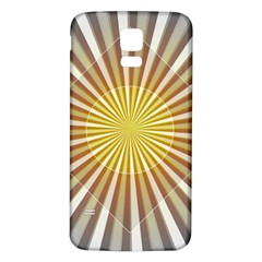 Abstract Art Modern Abstract Samsung Galaxy S5 Back Case (white)