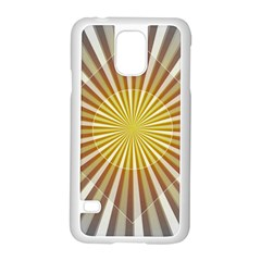 Abstract Art Modern Abstract Samsung Galaxy S5 Case (white)