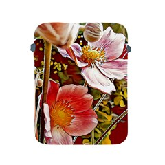 Flower Hostanamone Drawing Plant Apple Ipad 2/3/4 Protective Soft Cases