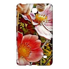 Flower Hostanamone Drawing Plant Samsung Galaxy Tab 4 (7 ) Hardshell Case