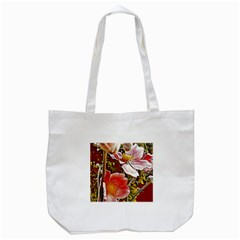 Flower Hostanamone Drawing Plant Tote Bag (white)