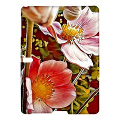 Flower Hostanamone Drawing Plant Samsung Galaxy Tab S (10 5 ) Hardshell Case