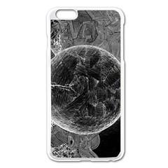 Space Universe Earth Rocket Apple Iphone 6 Plus/6s Plus Enamel White Case