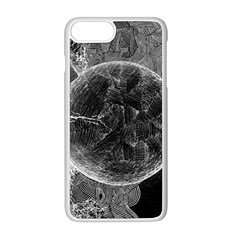 Space Universe Earth Rocket Apple Iphone 8 Plus Seamless Case (white)