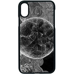 Space Universe Earth Rocket Apple Iphone X Seamless Case (black)