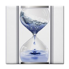 Time Water Movement Drop Of Water Tile Coasters