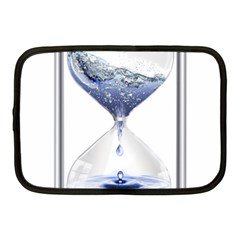 Time Water Movement Drop Of Water Netbook Case (medium)