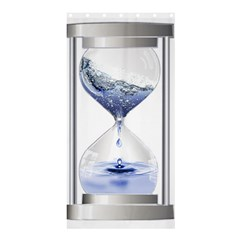 Time Water Movement Drop Of Water Shower Curtain 36  X 72  (stall)
