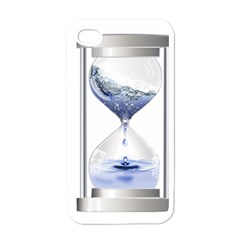 Time Water Movement Drop Of Water Apple Iphone 4 Case (white)