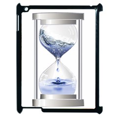 Time Water Movement Drop Of Water Apple Ipad 2 Case (black)