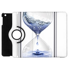Time Water Movement Drop Of Water Apple Ipad Mini Flip 360 Case