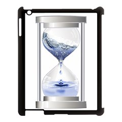 Time Water Movement Drop Of Water Apple Ipad 3/4 Case (black)