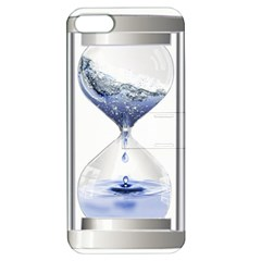 Time Water Movement Drop Of Water Apple Iphone 5 Hardshell Case With Stand