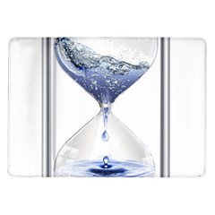 Time Water Movement Drop Of Water Samsung Galaxy Tab 10 1  P7500 Flip Case