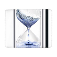 Time Water Movement Drop Of Water Samsung Galaxy Tab Pro 8 4  Flip Case