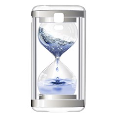 Time Water Movement Drop Of Water Samsung Galaxy S5 Back Case (white)