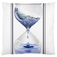 Time Water Movement Drop Of Water Standard Flano Cushion Case (one Side)