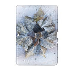 Winter Frost Ice Sheet Leaves Samsung Galaxy Tab 2 (10 1 ) P5100 Hardshell Case
