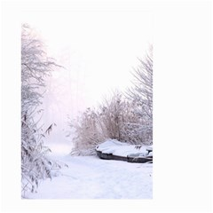 Winter Snow Ice Freezing Frozen Large Garden Flag (two Sides)