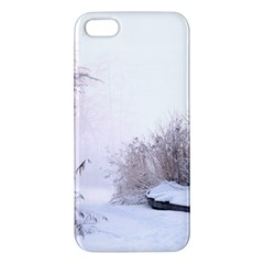 Winter Snow Ice Freezing Frozen Iphone 5s/ Se Premium Hardshell Case